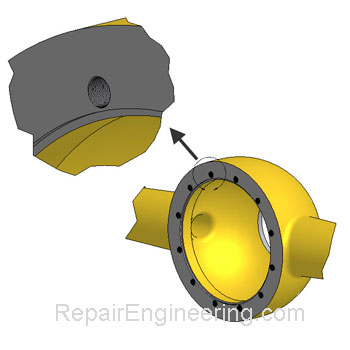 Differential Housing Repair
