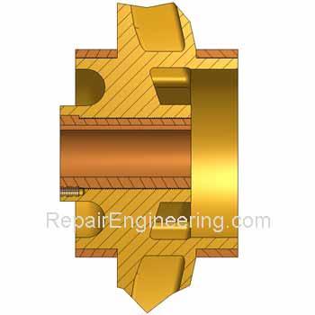 pump impeller repair
